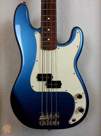 fender standard precision bass 2001 lake placid blue price reverb. Black Bedroom Furniture Sets. Home Design Ideas