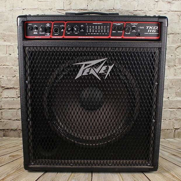 peavey tko 115 bass combo amp reverb. Black Bedroom Furniture Sets. Home Design Ideas