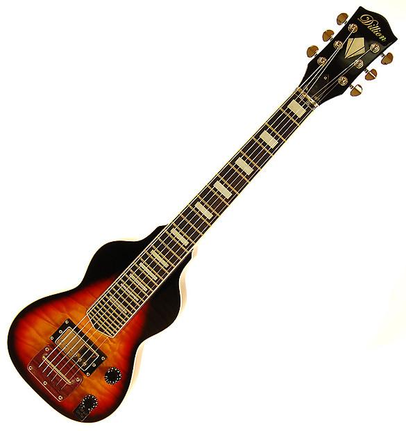 Dillion Dlp 006e 6 String Lap Steel Electric Slide Guitar