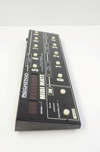 rocktron midi mate midi control pedal in box reverb. Black Bedroom Furniture Sets. Home Design Ideas