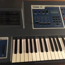 E-mu Emulator II+ 1985 vintage sampler with manual, disks, expanded RAM and SSM analog filters image