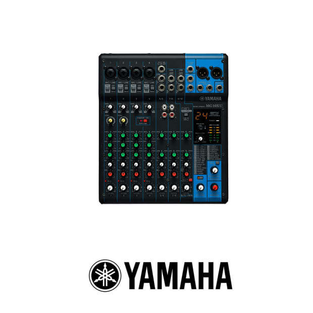 yamaha mg10xu 10 input stereo mixer reverb. Black Bedroom Furniture Sets. Home Design Ideas