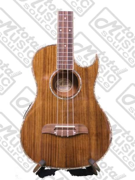 oscar schmidt acoustic electric baritone ukulele w case all reverb. Black Bedroom Furniture Sets. Home Design Ideas