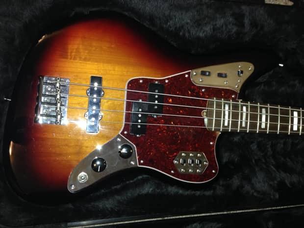 fender american standard jaguar bass 2015 3 color sunburst reverb. Black Bedroom Furniture Sets. Home Design Ideas