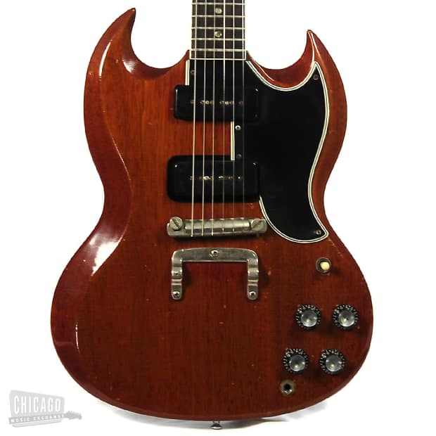 gibson sg special cherry red 1964 price reduced reverb. Black Bedroom Furniture Sets. Home Design Ideas