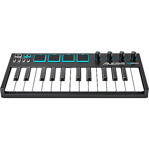 alesis v25 25 key usb midi keyboard drum pad reverb. Black Bedroom Furniture Sets. Home Design Ideas