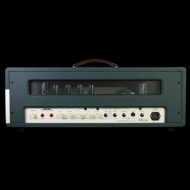 ampete one 100w tube guitar amp head reverb. Black Bedroom Furniture Sets. Home Design Ideas