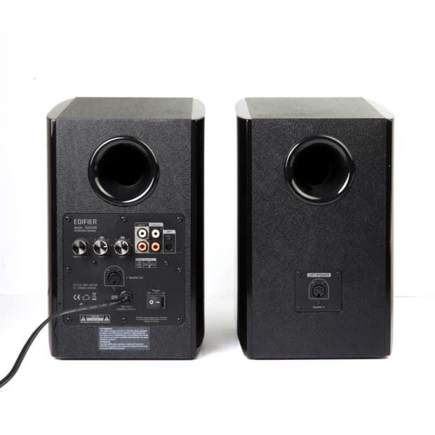 edifier r2000db black powered bluetooth bookshelf speakers reverb. Black Bedroom Furniture Sets. Home Design Ideas
