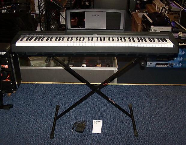 yamaha p35b 88 key digital piano keyboard p 35b w stand. Black Bedroom Furniture Sets. Home Design Ideas