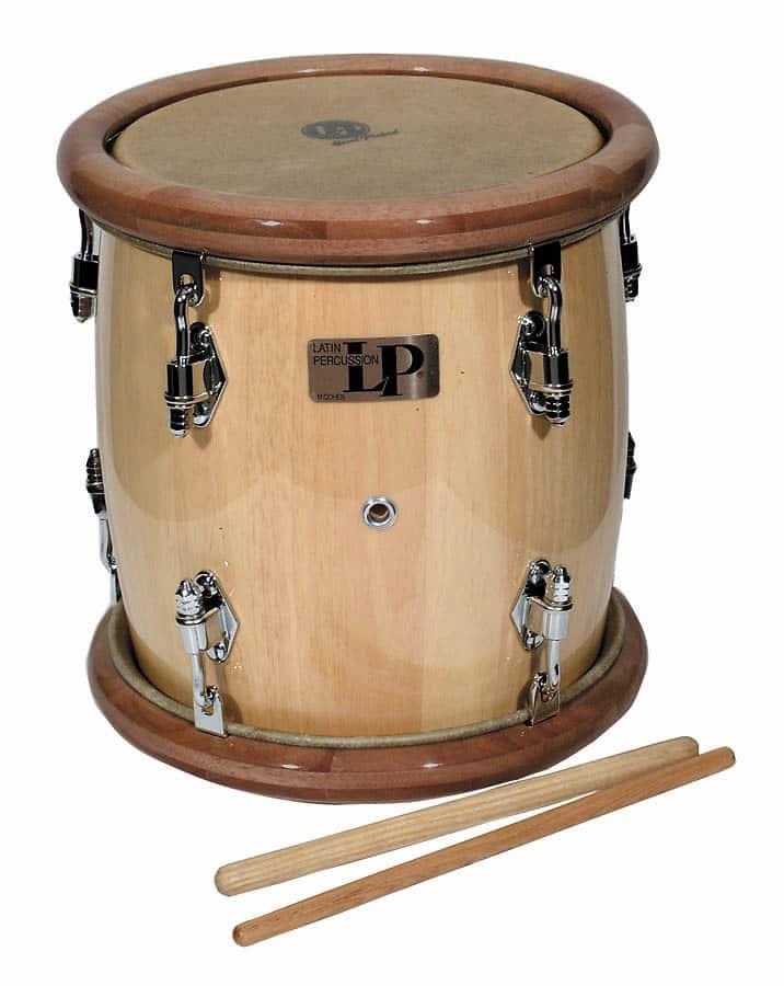 Latin Percussion Lp Tambora Drum W Beaters Reverb