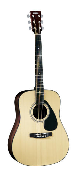 Yamaha f1hc 6 string dreadnought acoustic guitar with hard for Yamaha fg830 specs