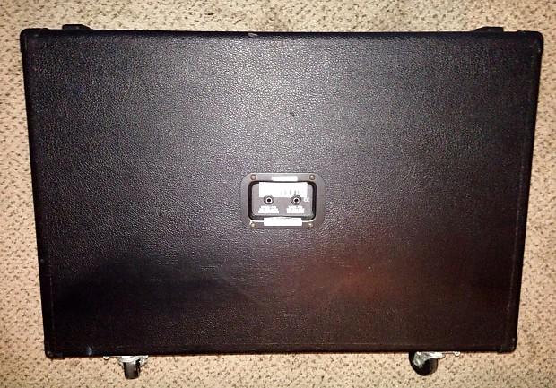 line 6 flextone stereo 2x12 guitar speaker cab cabinet black reverb. Black Bedroom Furniture Sets. Home Design Ideas
