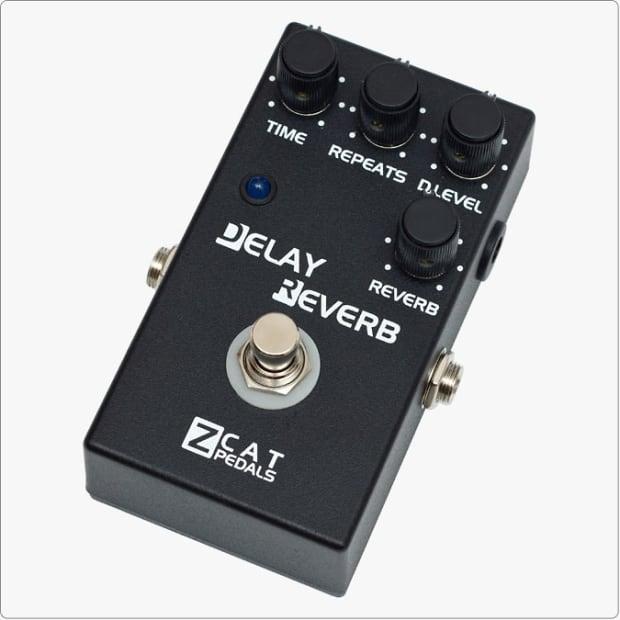 Z Cat Pedals ZCAT Delay-Reverb Blac...