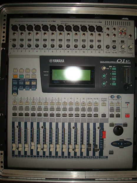 Yamaha 01v 24ch digital mixing console just lowered for Yamaha digital console