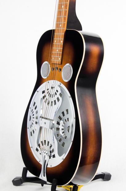 dobro vintage square neck resonator acoustic guitar 1979 burst 10012484 reverb. Black Bedroom Furniture Sets. Home Design Ideas