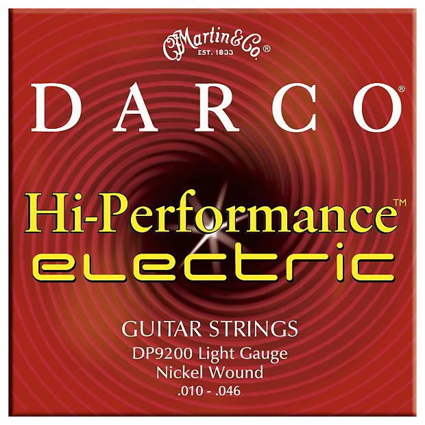 martin darco electric guitar strings light d9200 reverb. Black Bedroom Furniture Sets. Home Design Ideas
