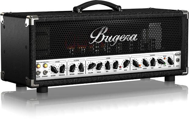 refurbished bugera 6262 infinium tube 120w guitar amplifier reverb. Black Bedroom Furniture Sets. Home Design Ideas