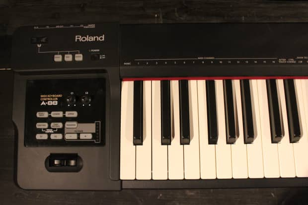 roland a 88 88 weighted keys midi keyboard controller reverb. Black Bedroom Furniture Sets. Home Design Ideas