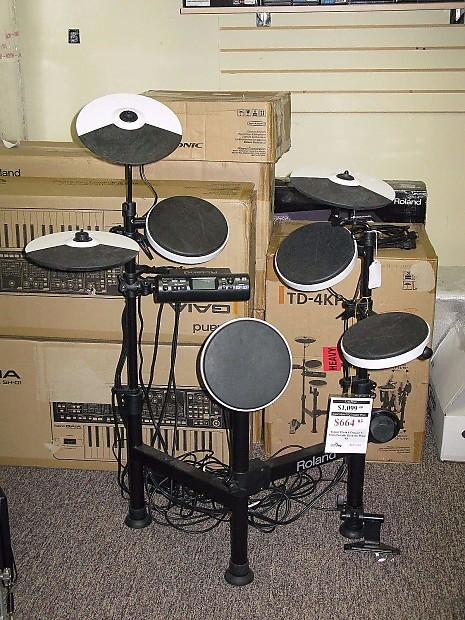 roland v drums td 4kp portable electronic drum set reverb. Black Bedroom Furniture Sets. Home Design Ideas