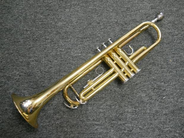 Yamaha ytr2335 trumpet mij japan plays great reverb for Yamaha 7c trumpet mouthpiece