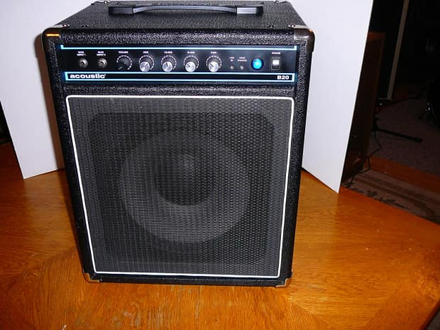acoustic b20 bass guitar amp combo amplifier 12 speaker reverb. Black Bedroom Furniture Sets. Home Design Ideas
