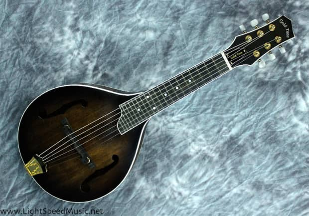 gold tone gm 6 acoustic electric 6 string mandolin tuned reverb. Black Bedroom Furniture Sets. Home Design Ideas