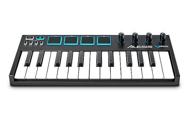 alesis vmini portable 25 key midi keyboard controller reverb. Black Bedroom Furniture Sets. Home Design Ideas