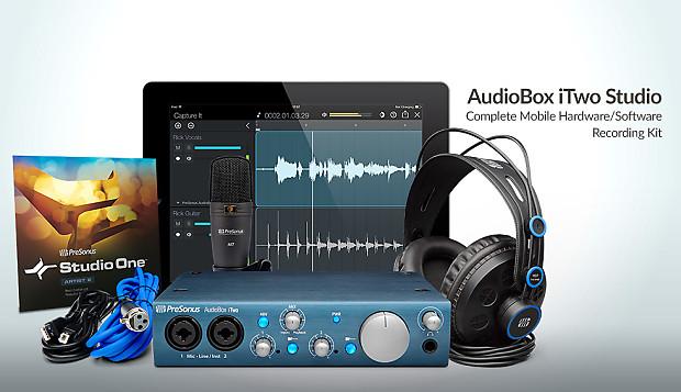 Presonus Audiobox Itwo Studio : presonus audiobox itwo studio complete recording bundle reverb ~ Vivirlamusica.com Haus und Dekorationen