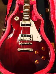 Epiphone Les Paul Custom Shop Traditional Pro 2014 Wine Red image
