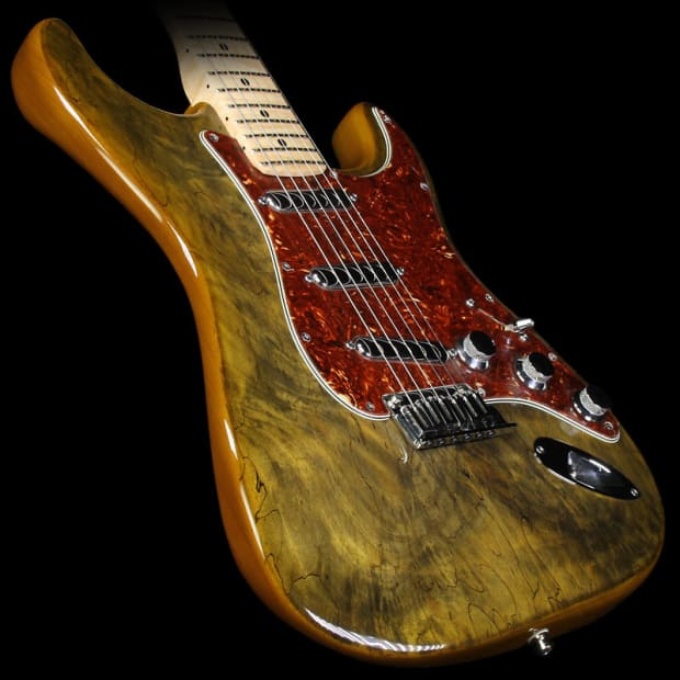 fender custom shop spalted maple top artisan stratocaster reverb. Black Bedroom Furniture Sets. Home Design Ideas