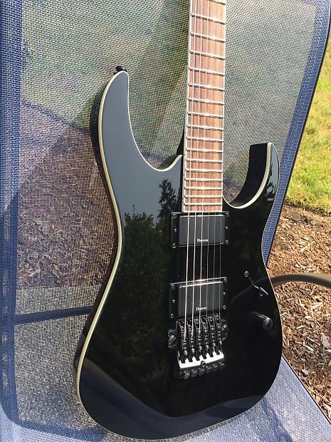 ibanez mtm2 black slipknot 39 s mick thomson signature guitar reverb. Black Bedroom Furniture Sets. Home Design Ideas