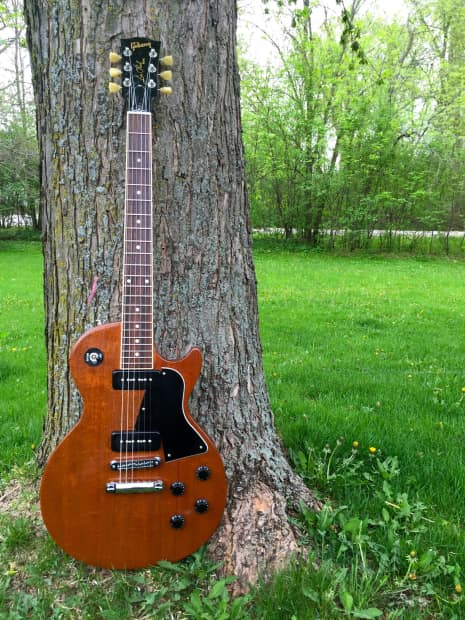 gibson les paul p90 special natural w case reverb. Black Bedroom Furniture Sets. Home Design Ideas