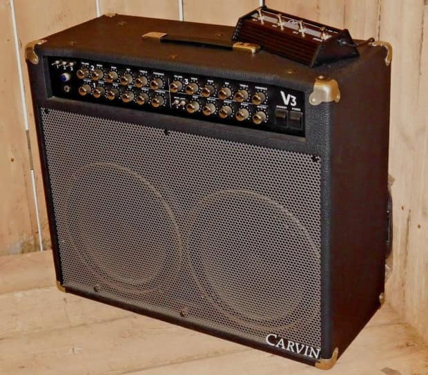carvin v3 100w 3 channel 2x12 usa tube combo amplifier w reverb. Black Bedroom Furniture Sets. Home Design Ideas