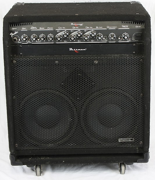 fender bassman 400 pro 350w electric bass guitar combo reverb. Black Bedroom Furniture Sets. Home Design Ideas