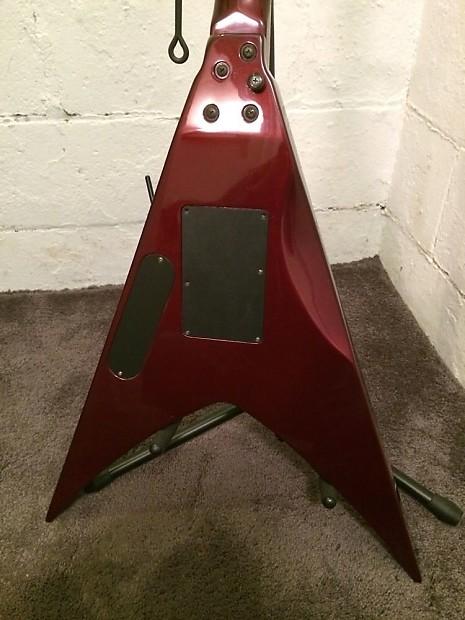 esp ltd v 250 flying v electric guitar rare pro set up low reverb. Black Bedroom Furniture Sets. Home Design Ideas