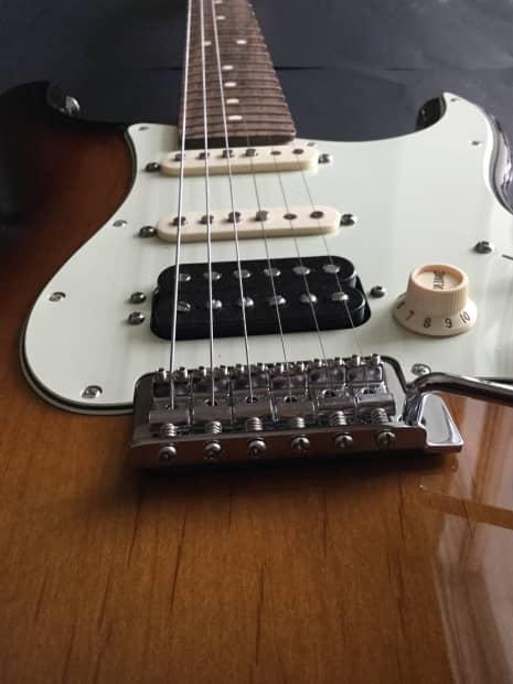 Jw Auto Sales >> Fender Deluxe Lone Star HSS Stratocaster 2014 3 Tone Burst ...