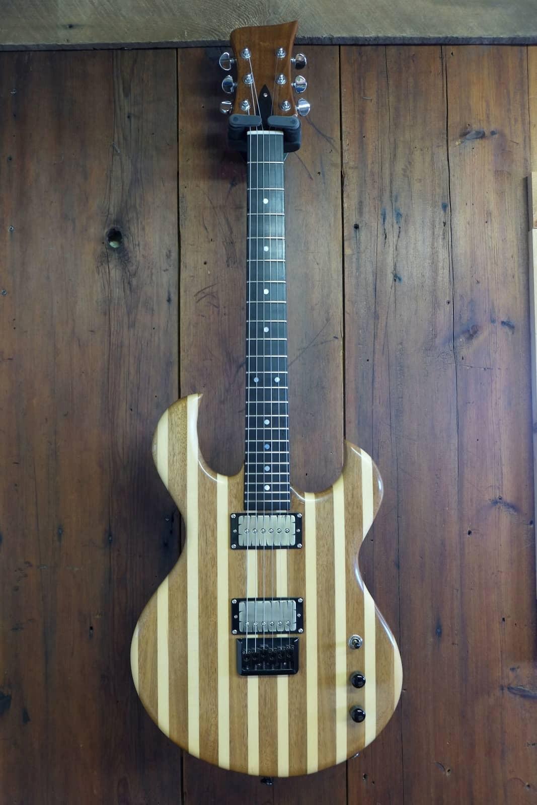 boutique custom hand made electric guitar rousseau luthier reverb. Black Bedroom Furniture Sets. Home Design Ideas