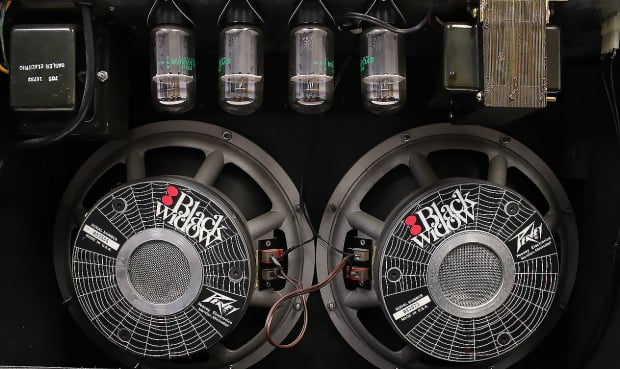 Peavey Deuce Vt 212 With Black Widow Speakers Amazing