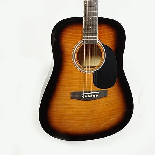 used jay turser jj45f acoustic guitar sunburst reverb. Black Bedroom Furniture Sets. Home Design Ideas