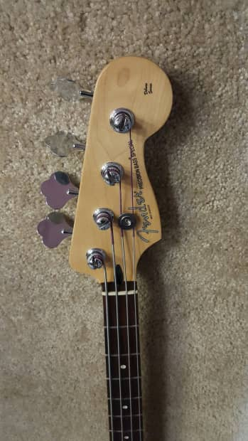 Fender Deluxe P Bass Special 4 String Bass Reverb