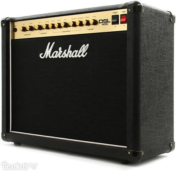 marshall dsl40c 40 20w 1x12 guitar combo amp reverb. Black Bedroom Furniture Sets. Home Design Ideas