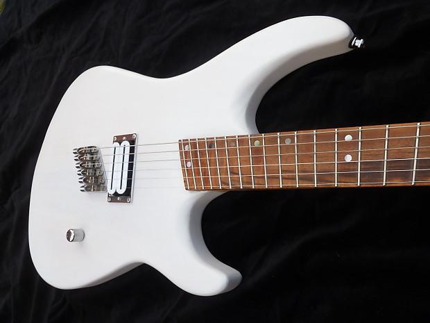 wv guitars fanned fret 6 string satin white reverb. Black Bedroom Furniture Sets. Home Design Ideas