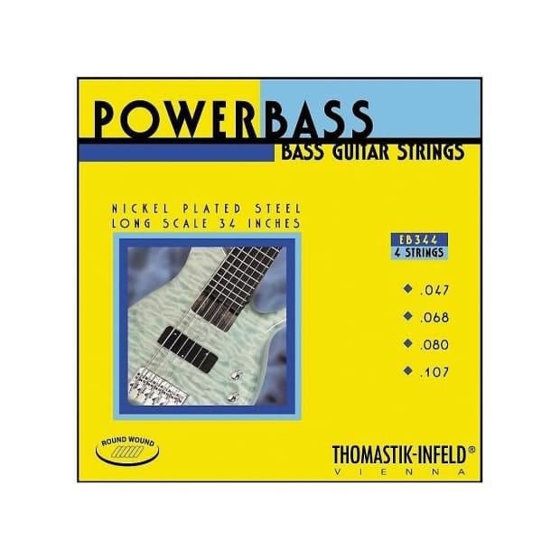 Bass Strings Thomastik : thomastik infeld eb344 bass guitar strings power bass 4 reverb ~ Vivirlamusica.com Haus und Dekorationen