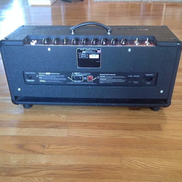 vox ac30 limited edition handwired head ac30 hwh 2003 rare reverb. Black Bedroom Furniture Sets. Home Design Ideas