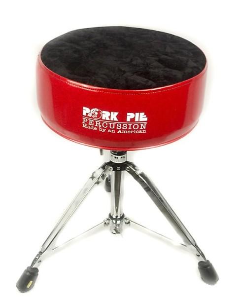 pork pie round throne standard base red sparkle black crush reverb. Black Bedroom Furniture Sets. Home Design Ideas