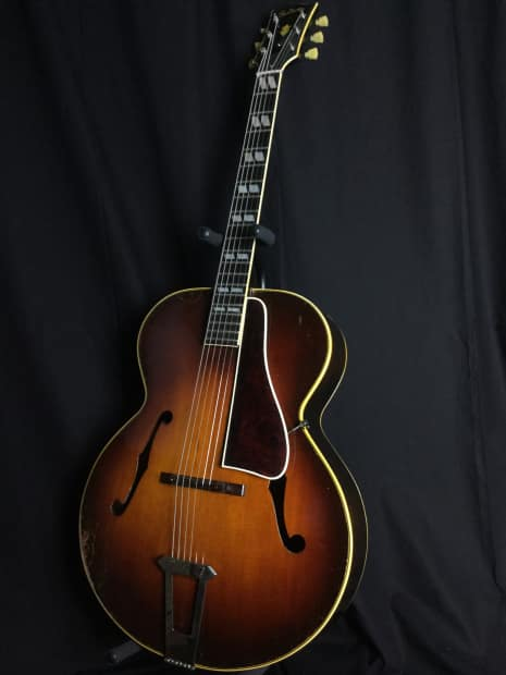 gibson l7 1947 vintage sunburst reverb