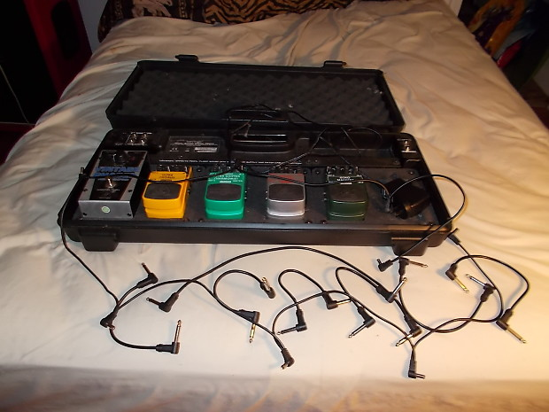 behringer pedal board pedals daisey chain power reverb. Black Bedroom Furniture Sets. Home Design Ideas