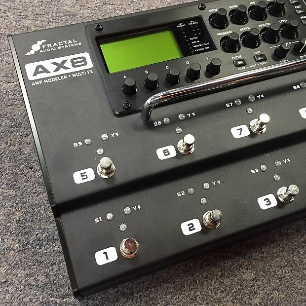 Ax8 Amp Modeler : fractal audio ax8 amp modeler multi effects pedalboard reverb ~ Vivirlamusica.com Haus und Dekorationen