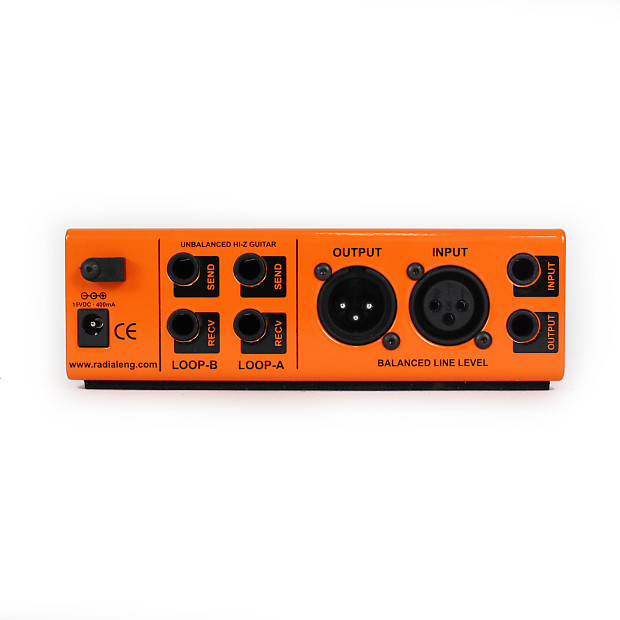 radial engineering extc sa guitar effects reamper interface reverb. Black Bedroom Furniture Sets. Home Design Ideas