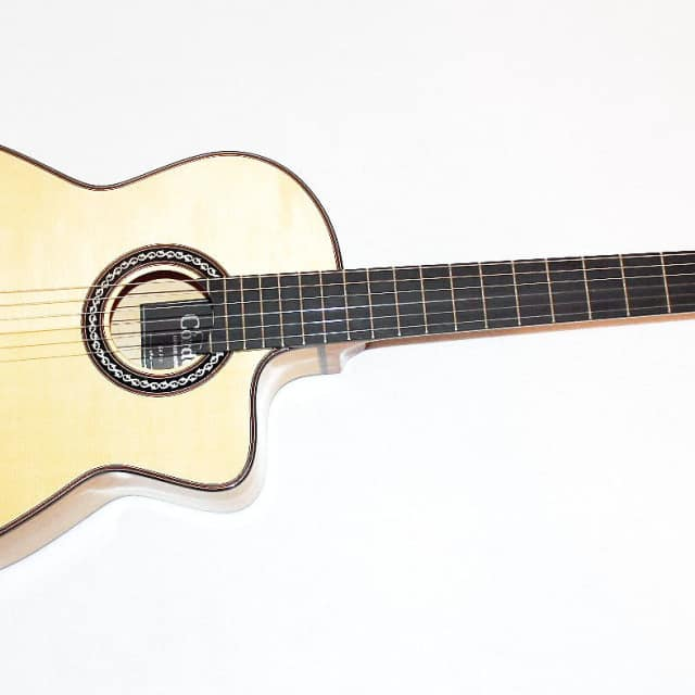 Cordoba GK Pro Nylon Flamenco Acoustic Electric Guitar image